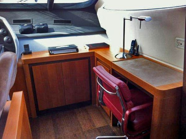 Captain's Navigation Desk
