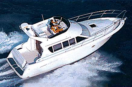 Silverton 362 Sedan Cruiser Manufacturer Provided Image