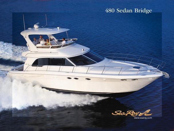 Sea Ray 480 Sedan Bridge Manufacturer Provided Image: 480 Sedan Bridge