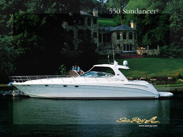 Sea Ray 550 Sundancer Manufacturer Provided Image: 550 Sundancer