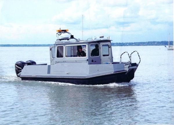 Aluminum Chambered Boats 28' DV-R