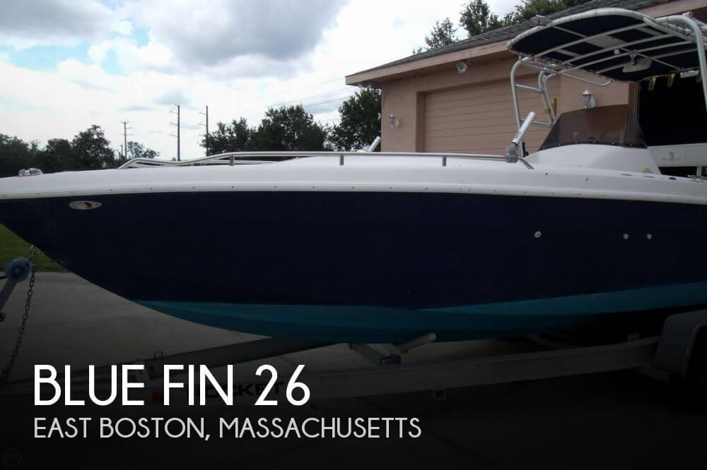 Blue Fin 26 1999 Blue Fin 26 for sale in East Boston, MA