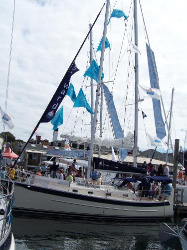 "Hake / Seaward 26RK Lil Penquin"" at the Annapolis Boat Show 04'"