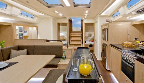Hanse 575 Interior