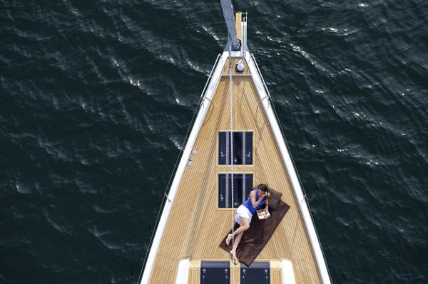 Hanse 575 View From Above