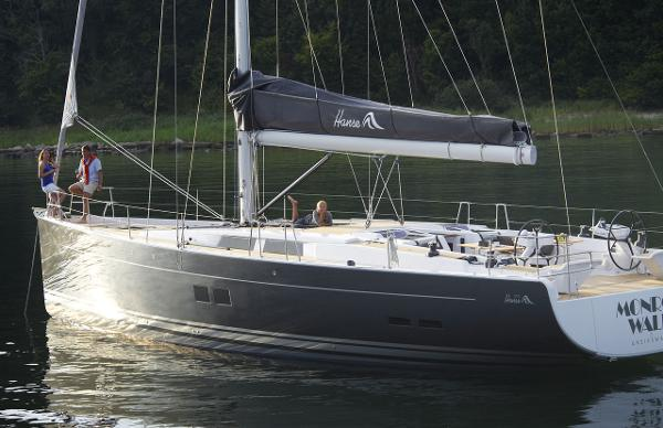 Hanse 575 Side View