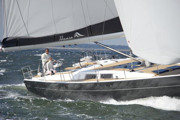 Hanse 575 Sailing