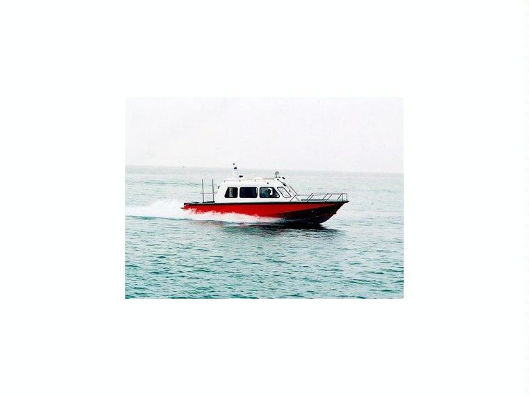 Alu-Kajutboot Karelli 33