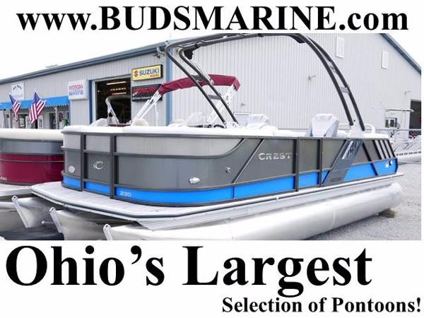 Crest Pontoon Boats Caliber 230 SLC