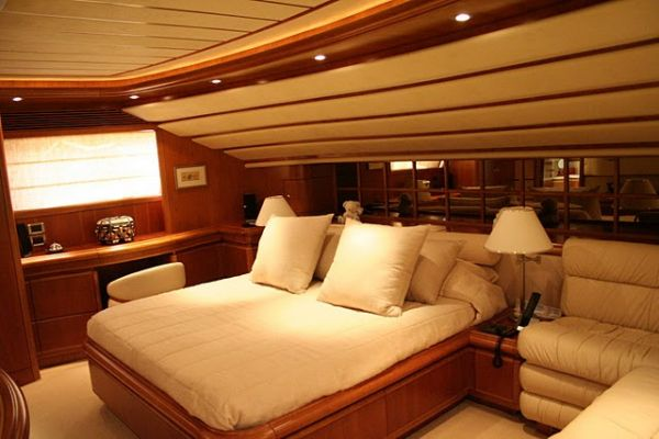 Cabin on main deck