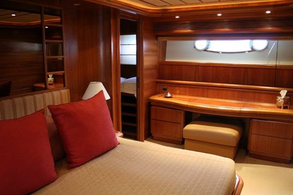Cabin on lower deck