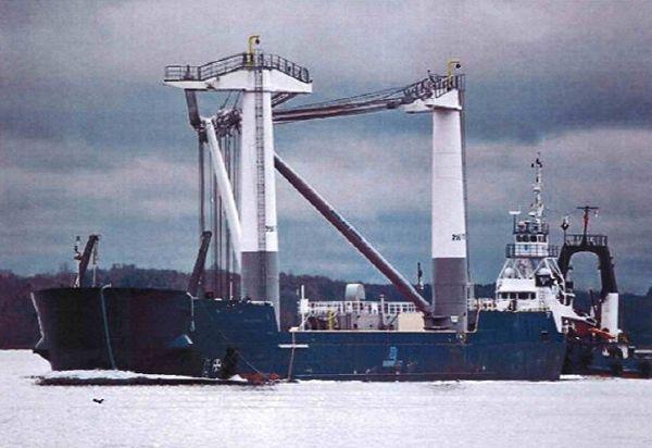 barge Crane Barge