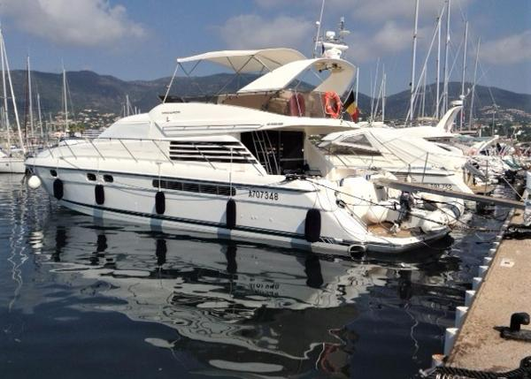Fairline Squadron 59 Fairline Squadron 59 with BJ Marine