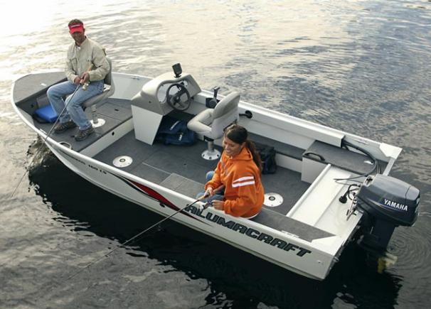 моторная лодка для морской рыбалки