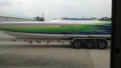Donzi 38 ZR Daytona