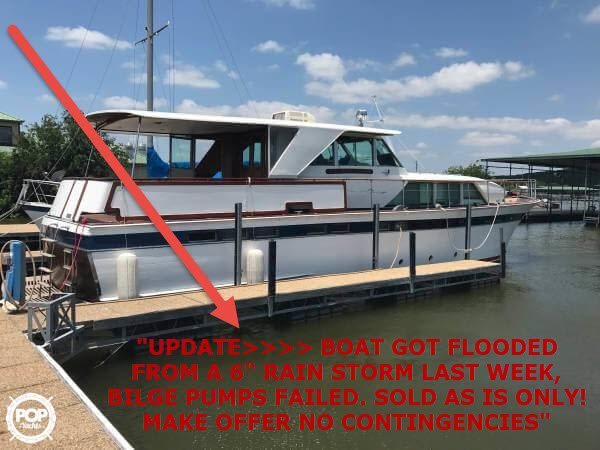 Chris-Craft 57 Constellation 1971 Chris-Craft 57 Constellation for sale in Graham,, TX