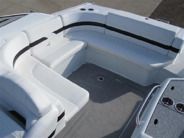 Large Wrap Around Aft Seating