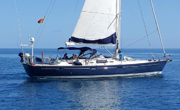 Beneteau 57 At sea