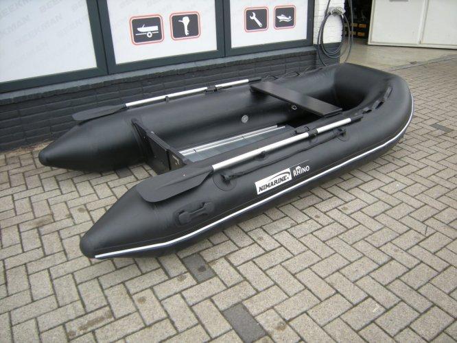 Nimarine (Brig, Zodiac) 290 (Black Rhino) met aluminium vloerdelen