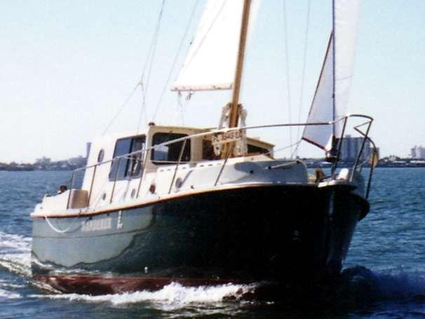 Nimble Wanderer 32 Nimble under sail Manufacturer Image