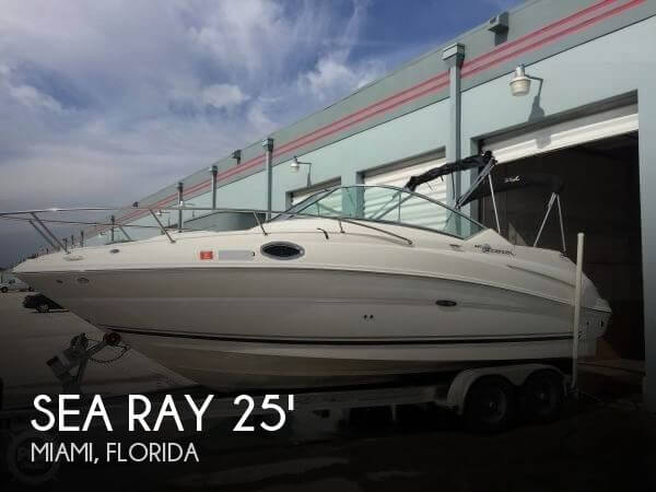 Sea Ray 240 Sundancer 2007 Sea Ray 240 Sundancer for sale in Miami, FL