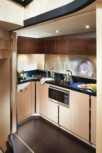 Sunseeker Predator 68 Galley