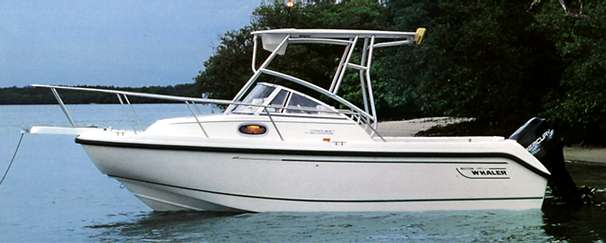 Boston Whaler 21 Conquest Manufacturer Provided Image