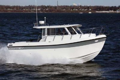 Osprey Pilothouse 28 Long Cabin Manufacturer Provided Image