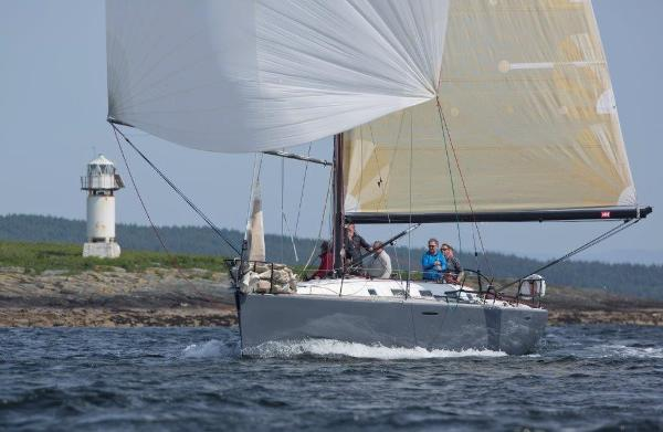 Beneteau First 44.7 Sailing