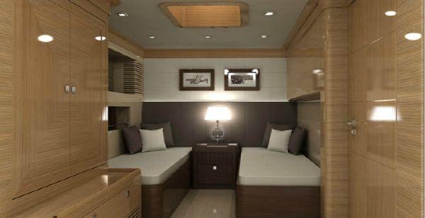 Conrad 115 guest cabin