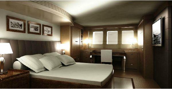Conrad 115 master cabin