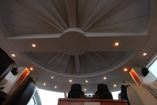 Circular Opening Roof and B & O Speakers