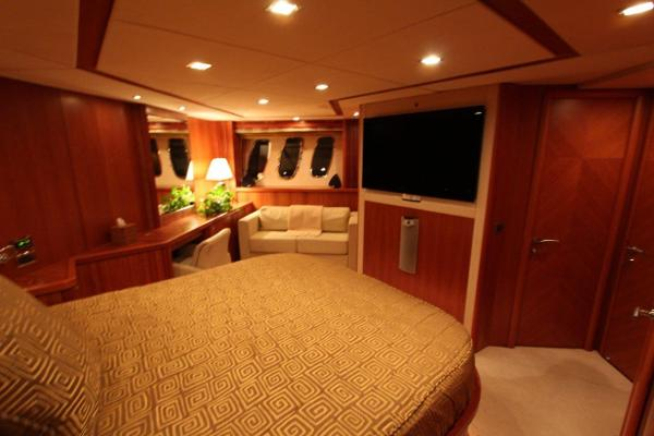 Master Stateroom Facing Port