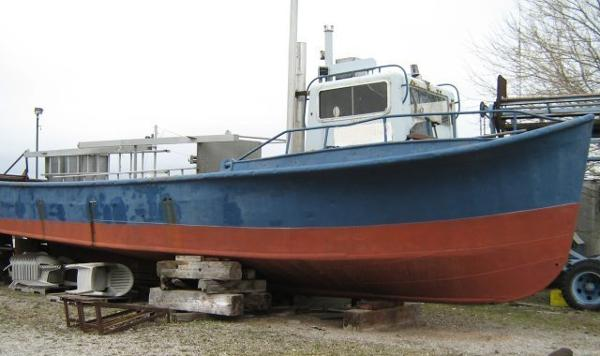 Steel Trap Net Fishing Boat Built in Canada