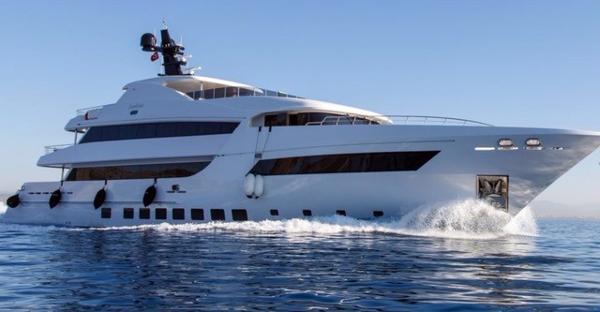 Steel Motor Yacht
