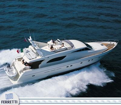 Ferretti Yachts 72 Manufacturer Provided Image
