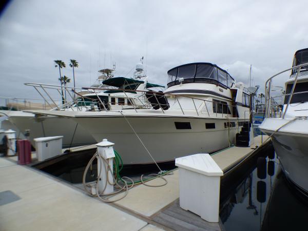 Californian Motor Yacht Port view