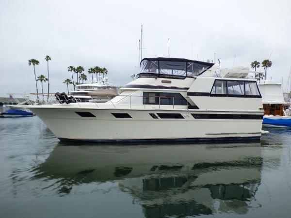 Californian Motor Yacht Starboard view