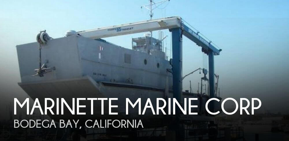 Marinette Marine Corp 74 LCM-8 1969 Marinette Marine Corp 74 LCM-8 for sale in Bodega Bay, CA