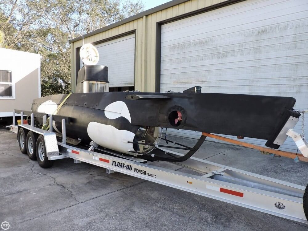Marlin 32 Diesel Electric S-101 Manned Submarine 1987 Marlin 32 Diesel Electric S-101 Manned Submarine for sale in Vero Beach, FL