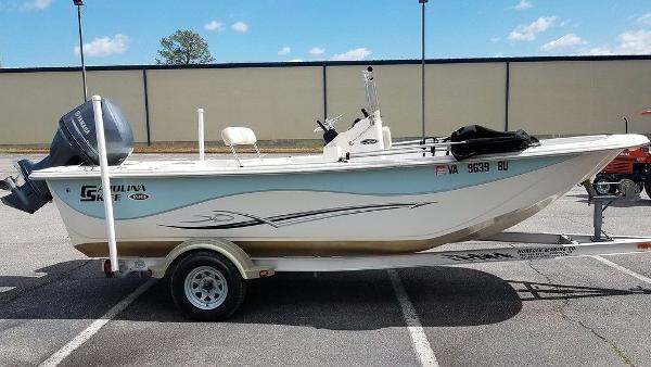 Carolina Skiff DLV Series 198