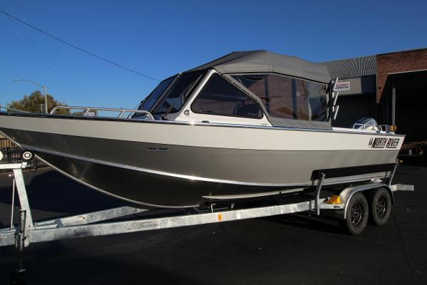 North River 22' Seahawk - welded frame top