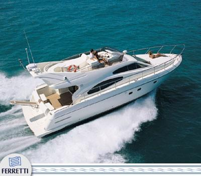Ferretti 480 Manufacturer Provided Image