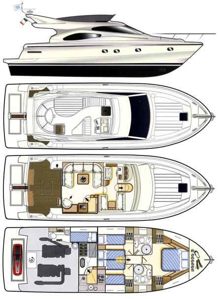 Ferretti Yachts 480 Manufacturer Provided Image