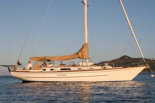 Islander 48 C Pacem at Anchor