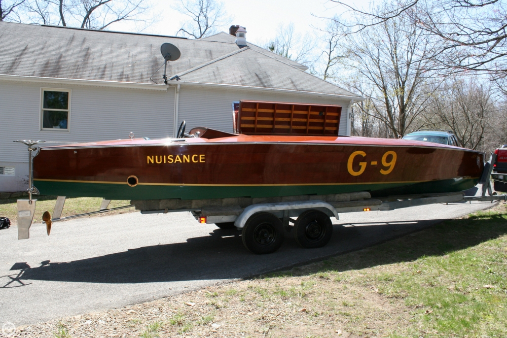 Custom-Craft 26 Gold Cup Race Boat 1989 Custom 26 Gold Cup Race Boat for sale in Lexbridge, MA