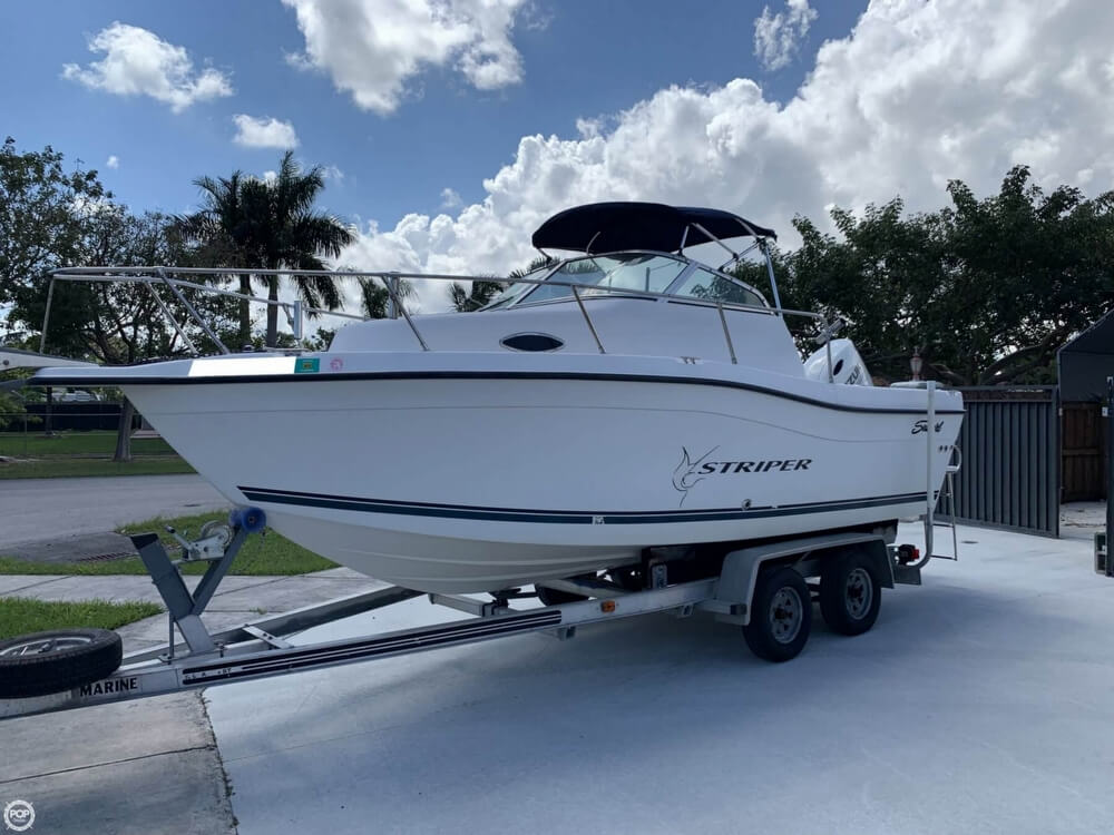 Seaswirl Striper 21 - 2017 Suzuki Engine 2000 Seaswirl Striper 21 - 2017 Suzuki Engine for sale in Homestead, FL