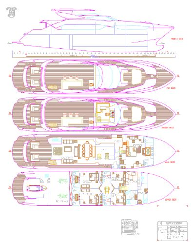 Miss Tor Yacht 110 Layout