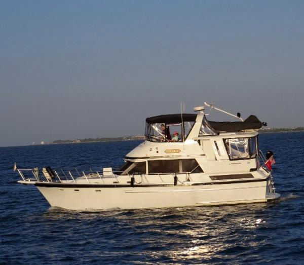 Jefferson 42 Sundeck Motor Yacht 42' Jefferson port profile photo1