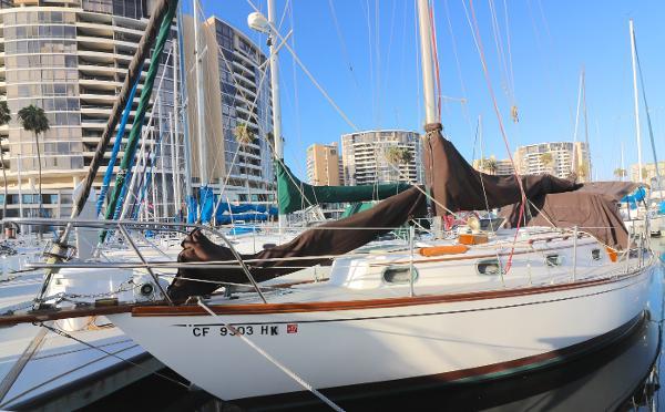 Cape Dory Cruising Cutter Sailboat